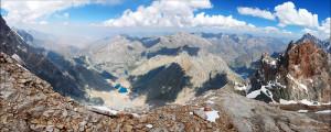 Фанские горы в Таджикистане