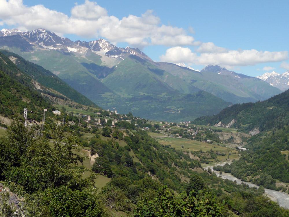 Село Местиа